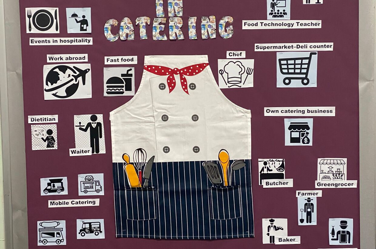Catering career pathways to inspire students for job opportunities